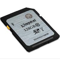 Kingston金士顿 SD卡128G CLASS10高速相机卡 128g SD10VG2 128g 数码相机存储卡SDXC 128g