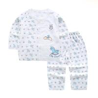 憨豆龙婴儿内衣宝宝纯棉卡通套装春秋0-2岁男女童睡衣秋款长袖