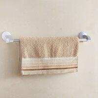 [当当自营]顺美 不锈钢浴巾架40CM强力吸壁毛巾杆浴巾架SM-2256 白色