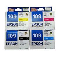 爱普生(Epson)T1091黑色墨盒T1093 洋红色 T1092 青色 T1094 黄色 彩色墨盒套装 适用爱普生 ME30/ME70/ME80W/ME1100/ME300/ME360/ME510/ME520/600F/650FN/700FW