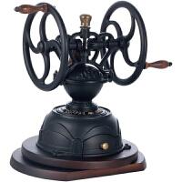 台湾原装BE9999双铁轮可旋转手摇磨豆机 磨咖啡豆机研磨机 限量版