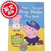 [现货]小猪佩奇 粉红猪小妹 Peppa Pig: Peppa and George's Shiny Sticker Play Book 英文原版 佩奇和乔治