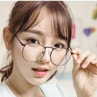 原宿款全金属复古圆形眼镜框2945 潮人男女可配近视框架眼镜