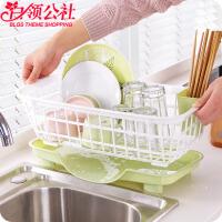 白领公社 创意厨房用品 创意家居用品实用厨房收纳用具居家生活日用品筷子架新奇特百货沥水蓝置物架