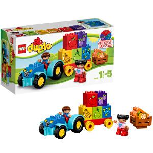 [当当自营]LEGO 乐高 duplo得宝系列 我的第一辆拖拉机 积木拼插儿童益智玩具 10615