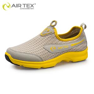AIRTEX亚特 新款女士透气网布鞋 夏季情侣款舒适轻便登山女鞋徒步鞋 休闲鞋