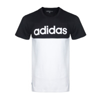 Adidas阿迪达斯男装 2017新款NEO运动休闲短袖T恤 BQ6818 现