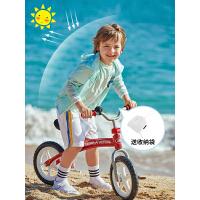 法国PELLIOT户外防晒衣 儿童防紫外线UPF40+超薄皮肤风衣透气防晒服外套