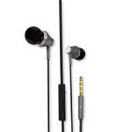 【可礼品卡支付+包邮】LUOBR 洛倍尔 金属耳机 手机耳机 可调音 入耳式 金属 重低音耳机迷你双入耳塞挂耳式