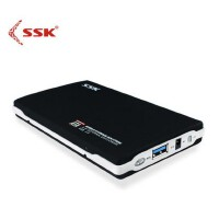 SSK飚王 黑鹰SHE072 USB3.0笔记本移动硬盘盒2.5寸 sata串口盒子