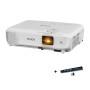 爱普生(EPSON)CB-X05投影仪 高清家用商务办公会议便携投影机3300流明X31升级版