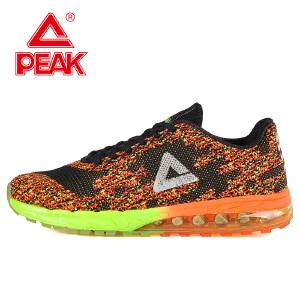 匹克男鞋轻便透气跑步鞋时尚耐磨运动鞋气垫飞织跑鞋百搭旅游鞋DH052237