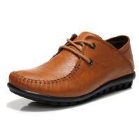【冬季清仓】古奇天伦 四季深口女单鞋 平跟平底休闲鞋英伦女鞋皮鞋 GQTL753