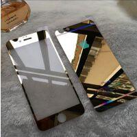 苹果iphone6手机钢化膜 3D曲面电镀镜子全屏玻璃保护膜 6plus贴膜