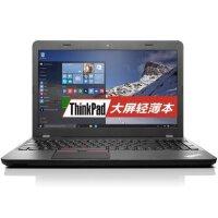 联想 ThinkPad E560 15.6英寸大屏商务办公手提IBM游戏影音娱乐笔记本电脑 20EVA06YCD寰宇黑 官方标配