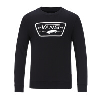 Vans范斯 2017新款男子运动休闲卫衣套头衫 VN0A33UYBLK/VN0A33UYWHT