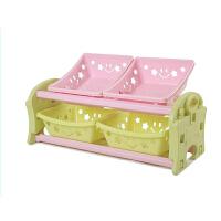 麦宝创玩 星星玩具架 可拆卸儿童收纳架 宝宝整理书架 幼儿园储物柜收纳收拾柜 5层星星玩具收纳架
