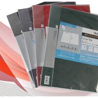 华杰办公用品A4文件夹板夹长强力夹资料夹档案夹文具CL1021