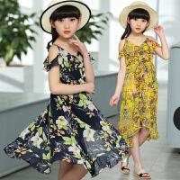 童装女童连衣裙夏季新款儿童沙滩裙中大童雪纺裙子女孩长裙潮