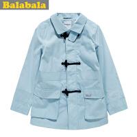 【6.26巴拉巴拉超级品牌日】巴拉巴拉balabala 男中童外套 春装新款 童装