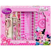 迪士尼(Disney)DM0011-5B文具礼盒套装/儿童学习用品套装/生日礼包7件套实惠礼包粉红 当当自营