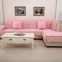 木儿家居 夏季沙发垫坐垫雪尼尔沙发巾沙发套