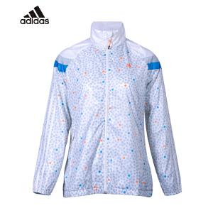 阿迪达斯 ADIDAS 运动外套 女 梭织夹克 防风衣 D87870