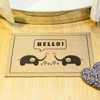 木儿家居 门垫 脚垫 棉麻加厚门厅卧室地垫 地毯 防滑垫 吸水垫
