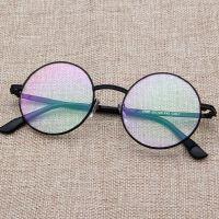 新款复古圆框平光镜 2990时尚金属眼镜框 学院风眼镜架眼镜
