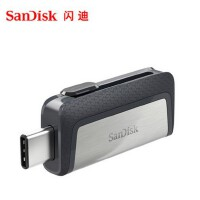 闪迪至尊高速Type-C USB3.1双接口OTG闪存盘 手机两用U盘16g 32g 64g