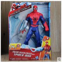 2015蜘蛛侠2 可发声 发光 关节可动人偶玩具模型