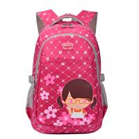 韩版女孩1-3-6年级中小学生时尚减负护脊双肩包 可爱公主儿童书包1-3年级小学生书包