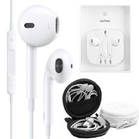 【赠耳机盒】Apple苹果7/6S EarPods 原装线控耳机耳麦 入耳式耳机立体声重低音/音量调节/带麦克接听电话-iPhone7/iPhone6/5S iPad/mini线控耳机
