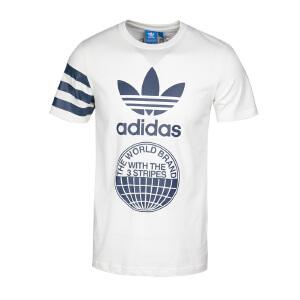 Adidas阿迪达斯 2017夏季新款男子三叶草运动休闲短袖T恤 BP8892