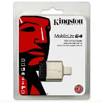 金士顿 SD读卡器 MobileLite G4 高速usb3.0 sd sdxc tf卡 多合一读卡器