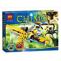 欢乐童年-博乐10074气功传奇le高青目狮的双桨直升机7012拼装积木男孩玩具