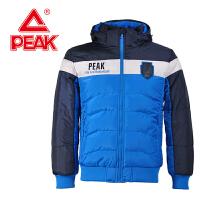 Peak/匹克 秋冬季男款 休闲时尚舒适保暖百搭连帽运动棉衣F534041