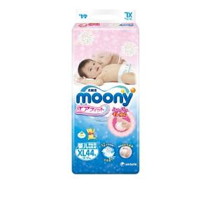 [当当自营]Moony 婴儿纸尿裤 尿不湿 加大号XL44片(适合12-17kg)