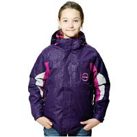 AIRTEX亚特户外青少年三合一冲锋衣冬男女儿童两件套保暖防风外套