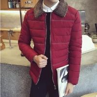秋冬新款棉衣男士棉服韩版修身青年短款立领棉袄外套潮流