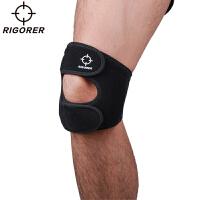 准者运动新款护膝 足球篮球运动护具装备 透气吸汗护膝盖男