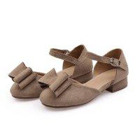 夏季新款韩版女童小皮鞋女童公主鞋学生鞋小高跟鞋罗马单鞋潮