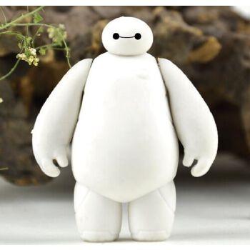 卡通创意大白橡皮 超萌暖男大白造型橡皮擦 儿童玩偶摆件小礼物