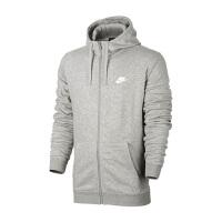 Nike耐克 2017新款男子连帽针织防风运动休闲卫衣夹克 804392-063