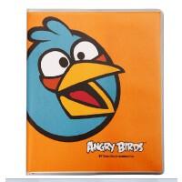 广博 愤怒的小鸟日记本 卡通可爱80页胶套本 记事笔记本子AB5102