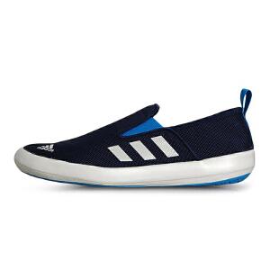 Adidas阿迪达斯 2017夏季新款男子运动休闲一脚蹬帆布户外运动鞋 AQ5201