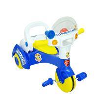 【当当自营】炫梦奇 儿童三轮车 宝宝脚踏车幼儿推车 扭扭车 滑行车溜溜车 XMQ0801蓝色