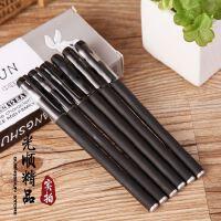 GP-380高档商务签字笔 中性笔 考试办公专用黑色水笔子弹头0.5mm十二只装