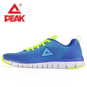 匹克 跑步鞋男夏季休闲透气轻便减震网面防滑运动跑步鞋男鞋DH043047