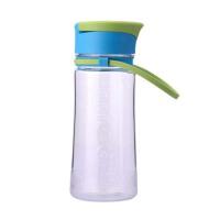 便携塑料男学生杯子  女带盖防漏运动随手水杯  随行儿童水瓶